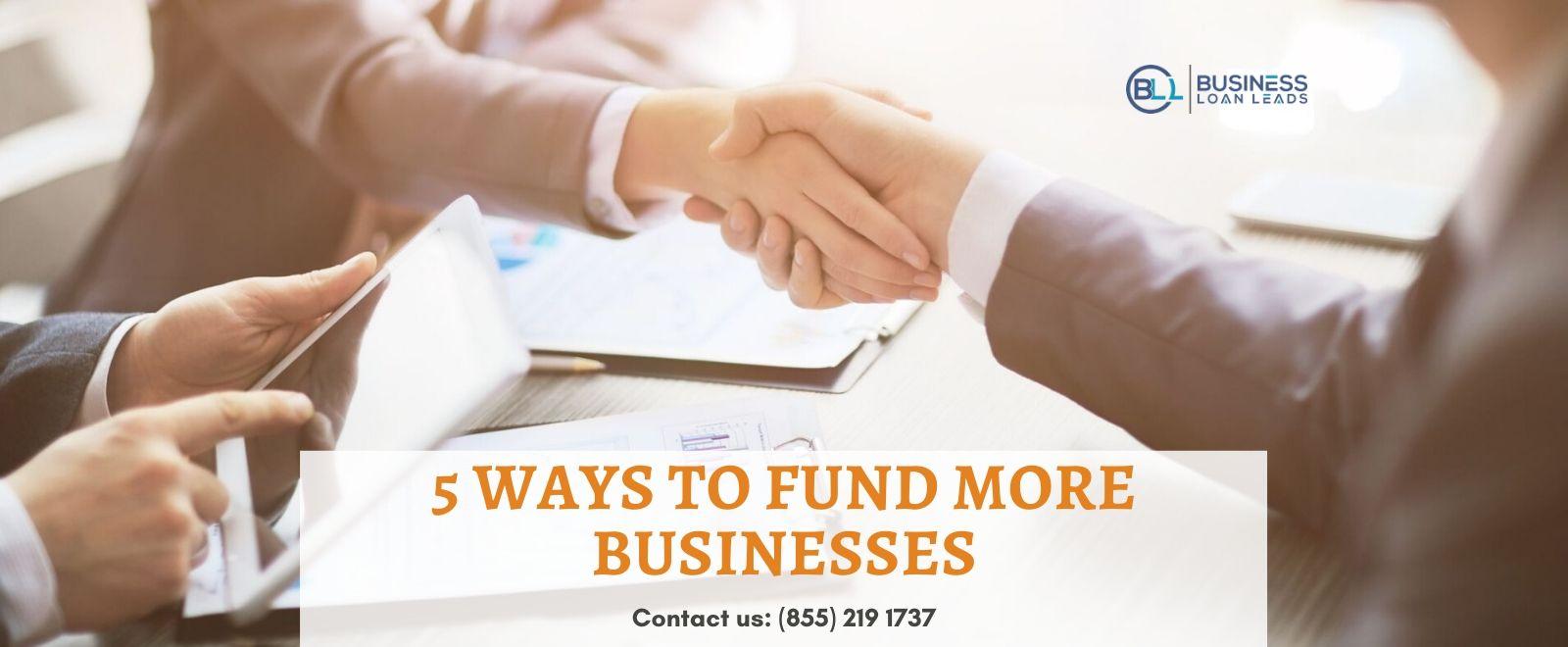 Fund Businesses in MCA